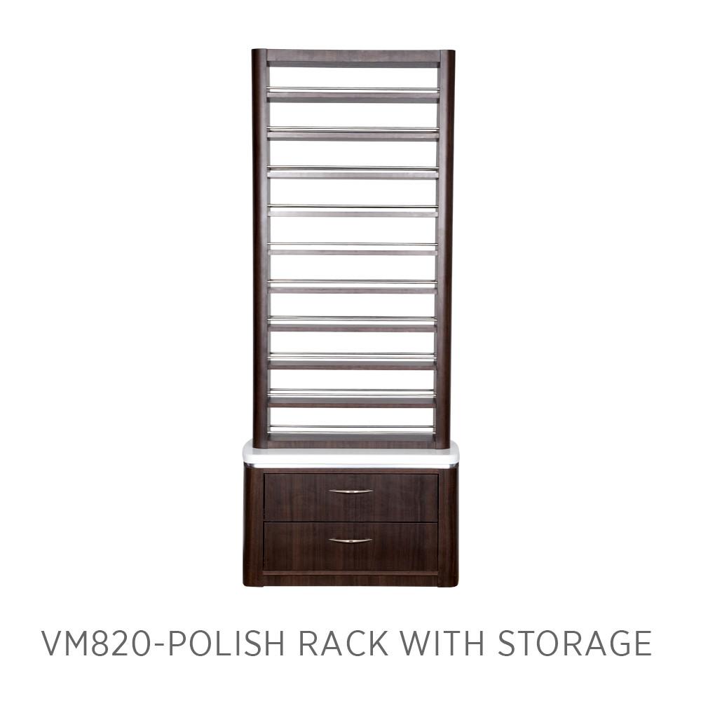 Moden VM820 Polish Rack with Storage