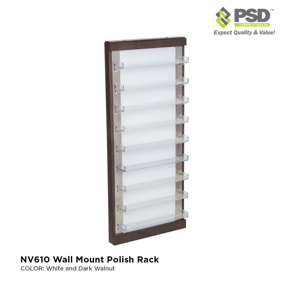 NV610 Wall Polish Rack