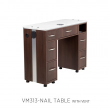Moden VM313 Manicure Table with Vent