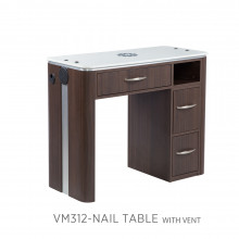 Moden VM312 Manicure Table with Vent