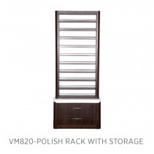 Moden VM820 Polish Rack with Storage