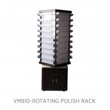 Moden VM810 Rotating Polish Rack w/LED