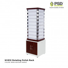 NV810 Rotating Polish Rack