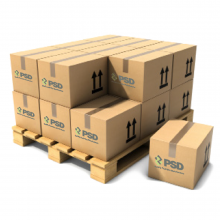 1700 Boxes of PSD Disposable Liner (40 Foot Container)